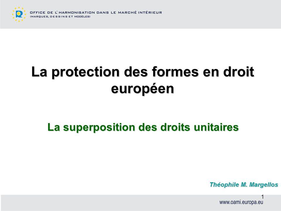 La protection des formes en droit européen