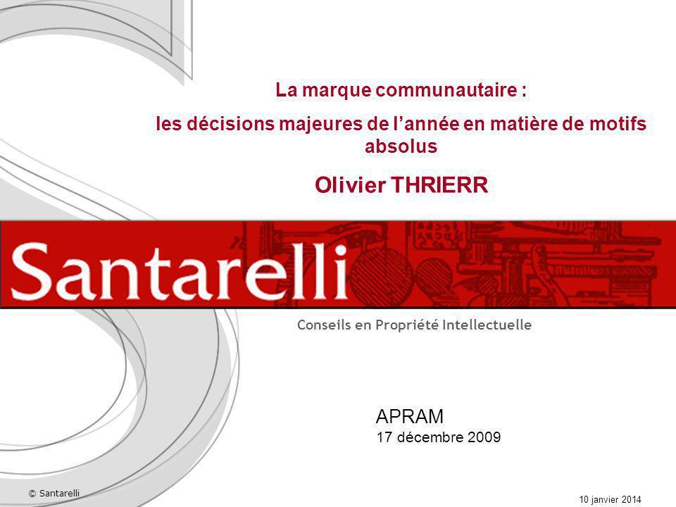 Olivier THRIERR La marque communautaire :