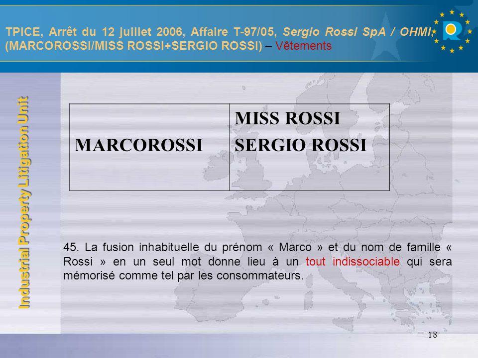 MARCOROSSI MISS ROSSI SERGIO ROSSI