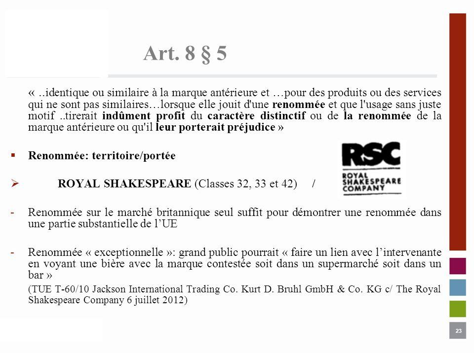 Art. 8 § 5