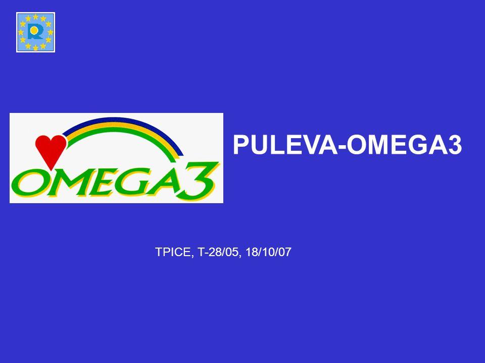 PULEVA-OMEGA3 TPICE, T-28/05, 18/10/07