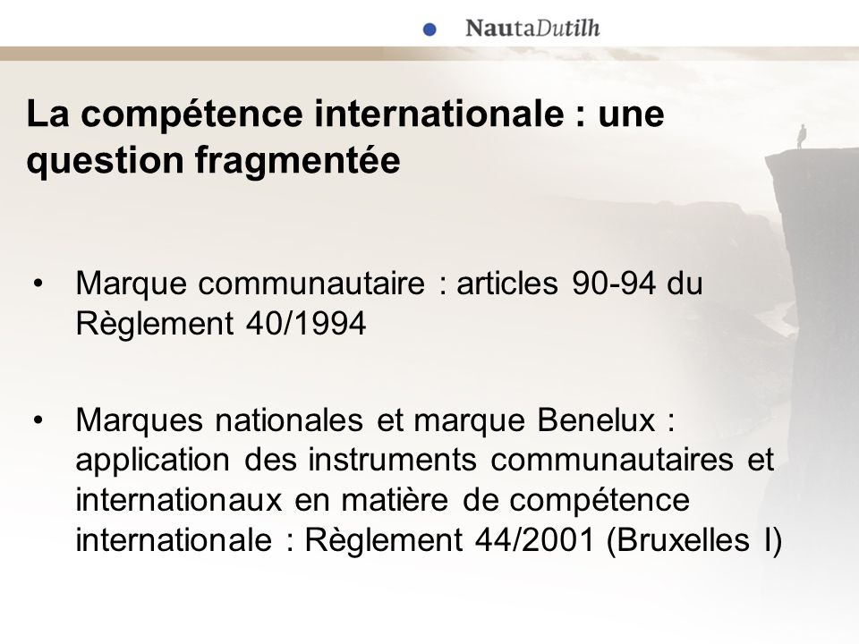 La compétence internationale : une question fragmentée