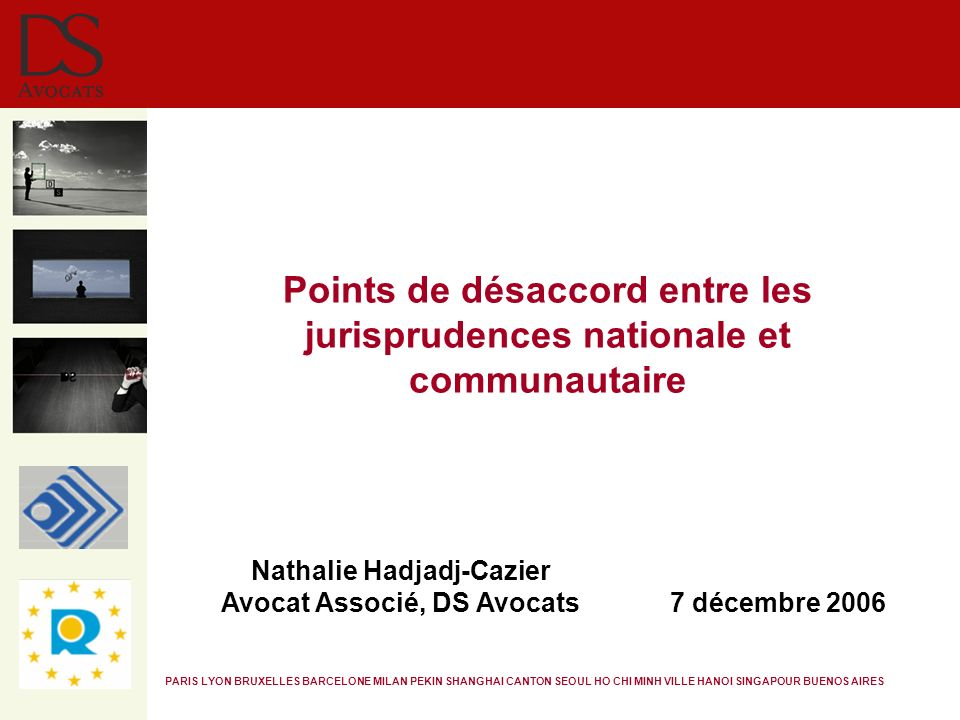 Nathalie Hadjadj-Cazier Avocat Associé, DS Avocats