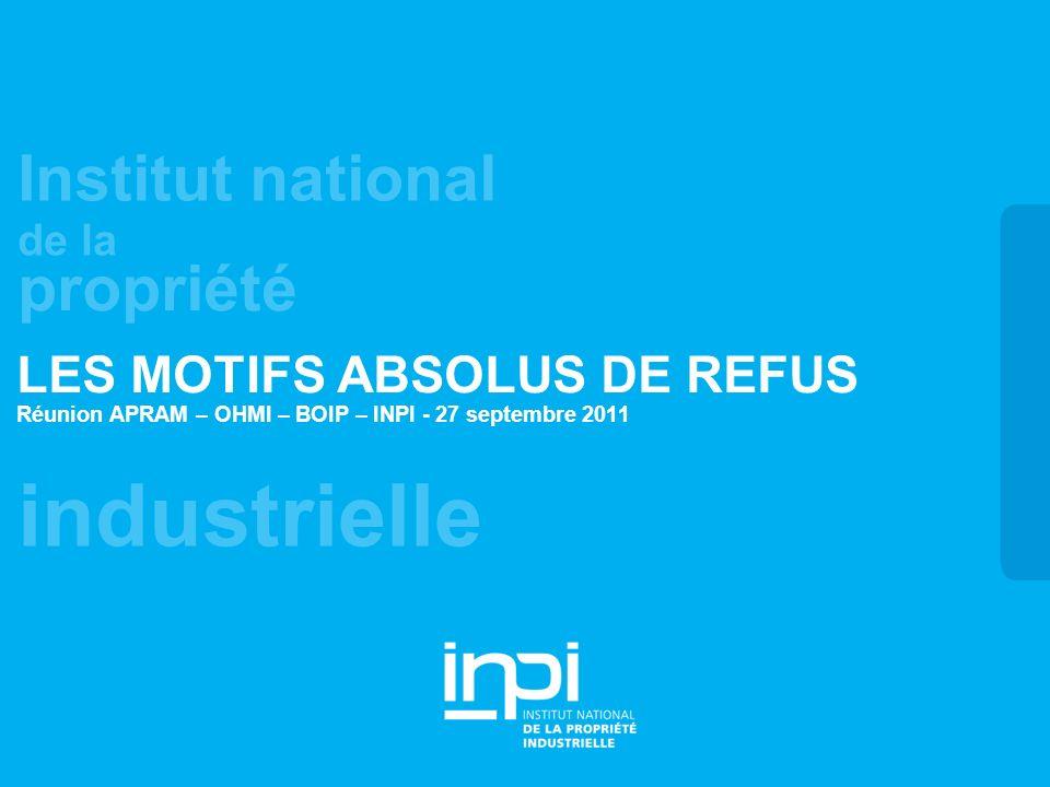 LES MOTIFS ABSOLUS DE REFUS