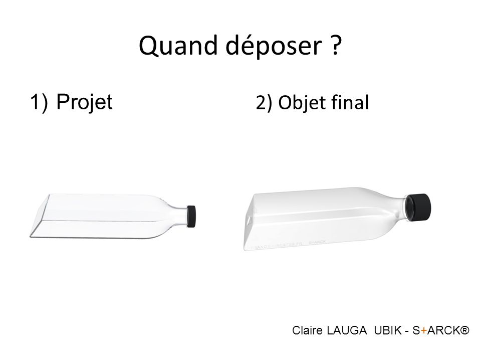 Claire LAUGA UBIK - S+ARCK®