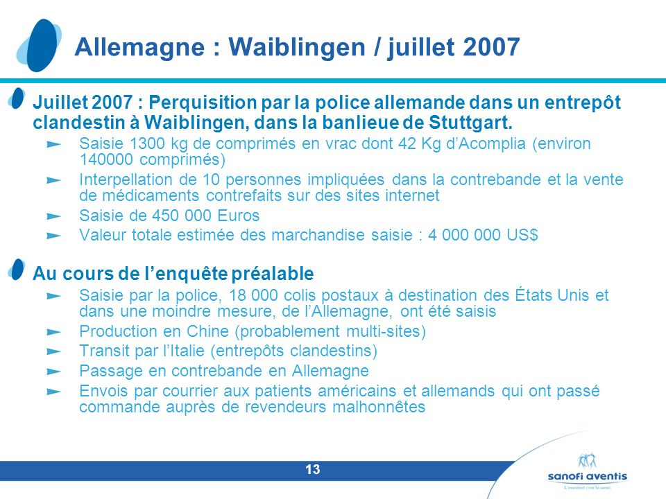 Allemagne : Waiblingen / juillet 2007