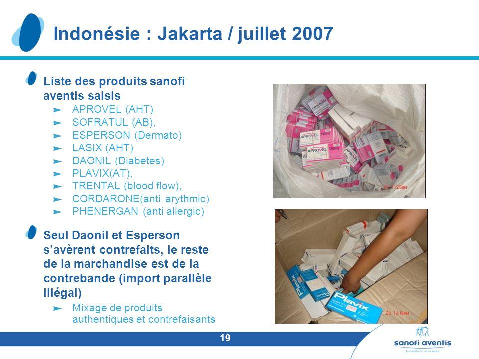 Indonésie : Jakarta / juillet 2007