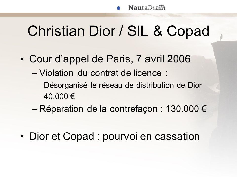 Christian Dior / SIL & Copad