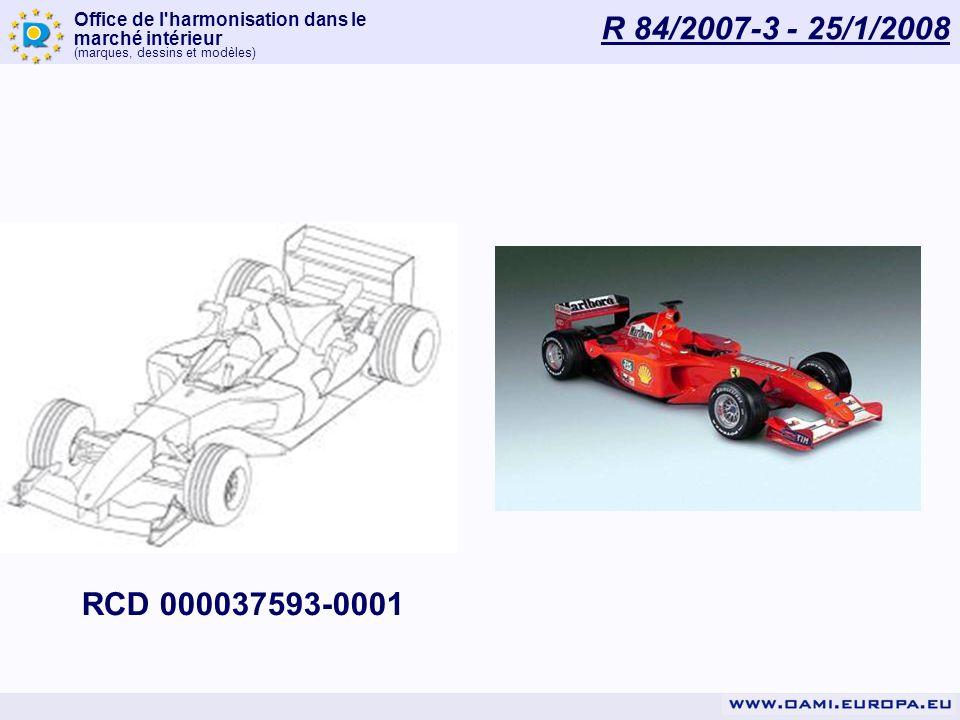 R 84/2007-3 - 25/1/2008 RCD 000037593-0001