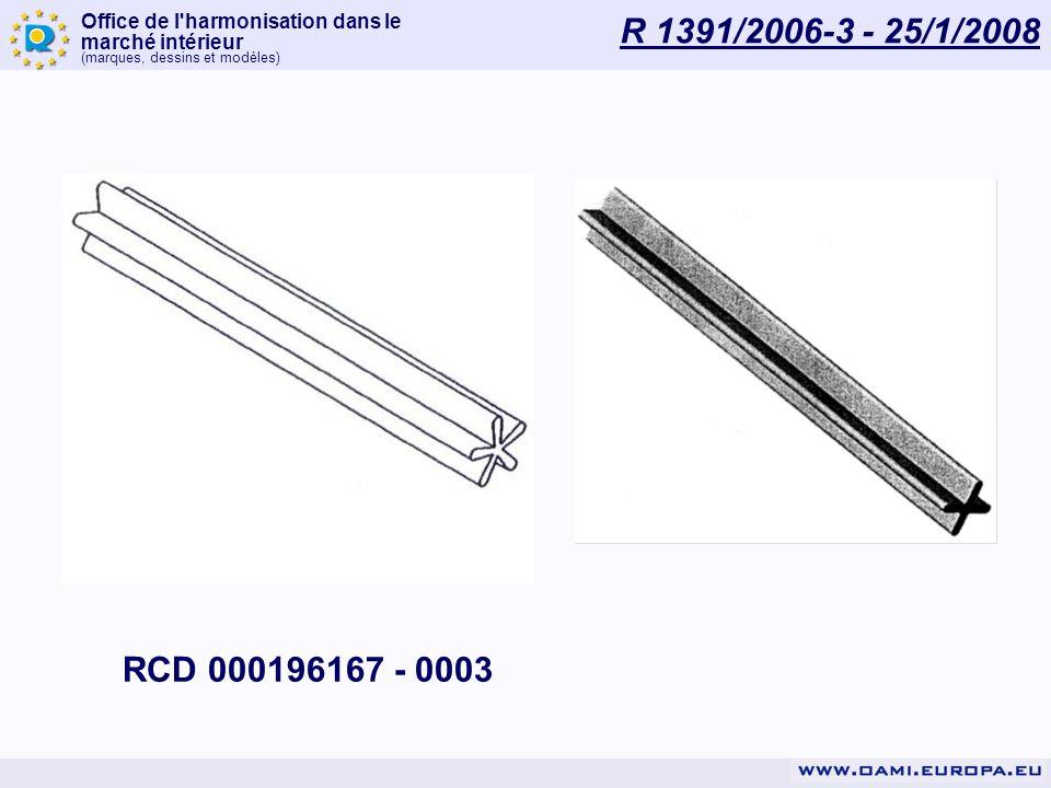 R 1391/2006-3 - 25/1/2008 RCD 000196167 - 0003