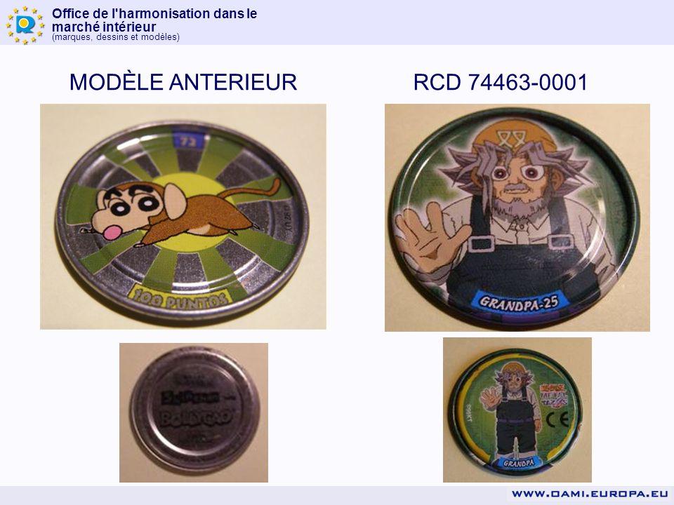 MODÈLE ANTERIEUR RCD 74463-0001