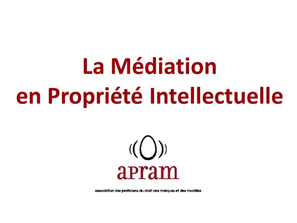 La Médiation en Propriété Intellectuelle