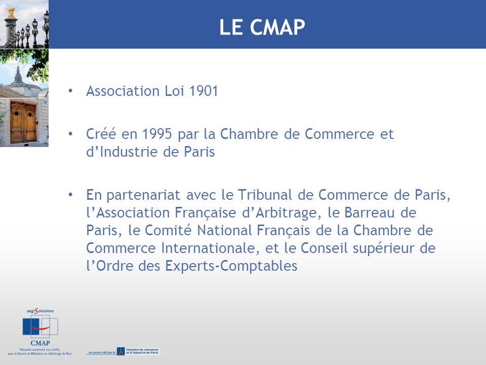 LE CMAP Association Loi 1901