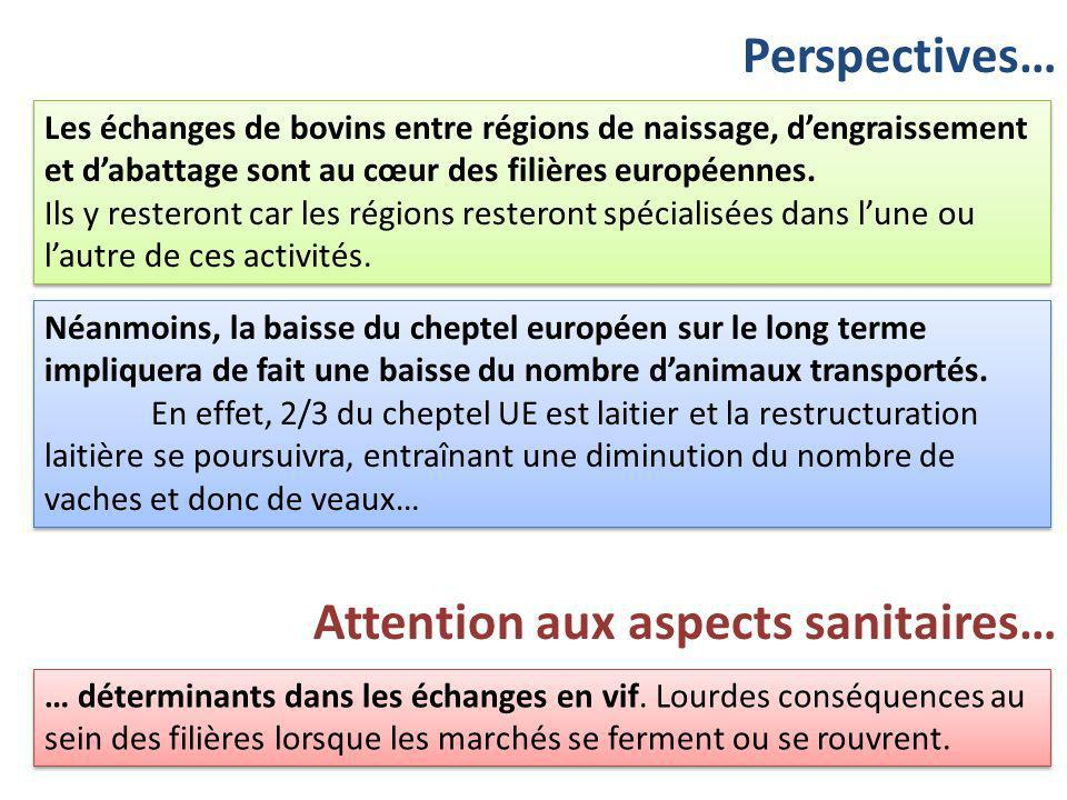 Attention aux aspects sanitaires…