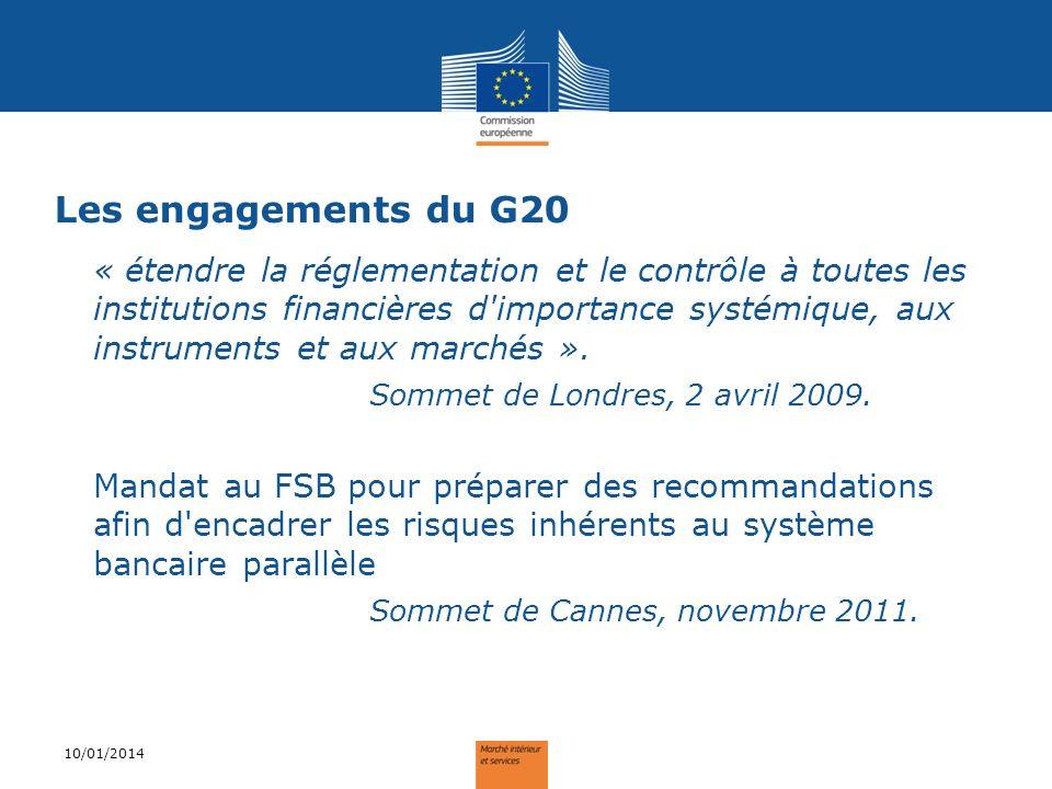 Les engagements du G20