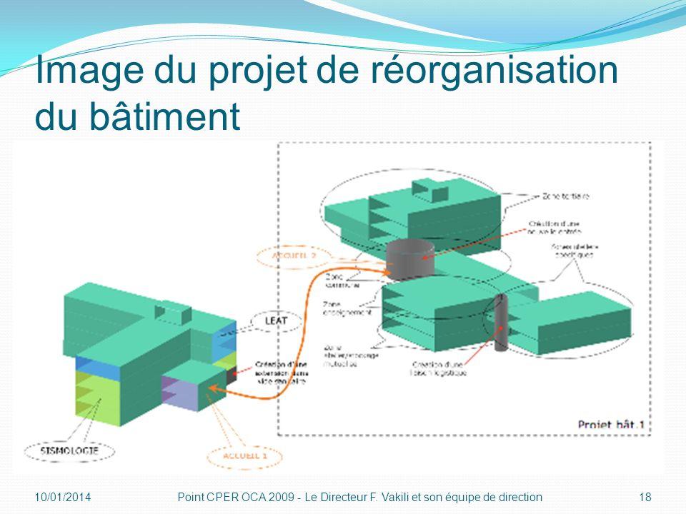 Image du projet de réorganisation du bâtiment