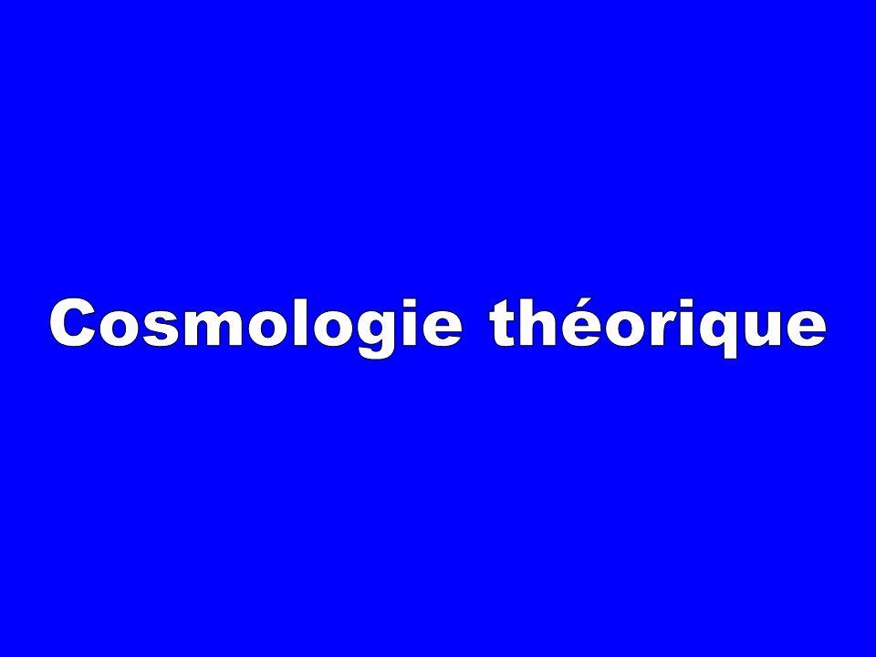 Cosmologie théorique