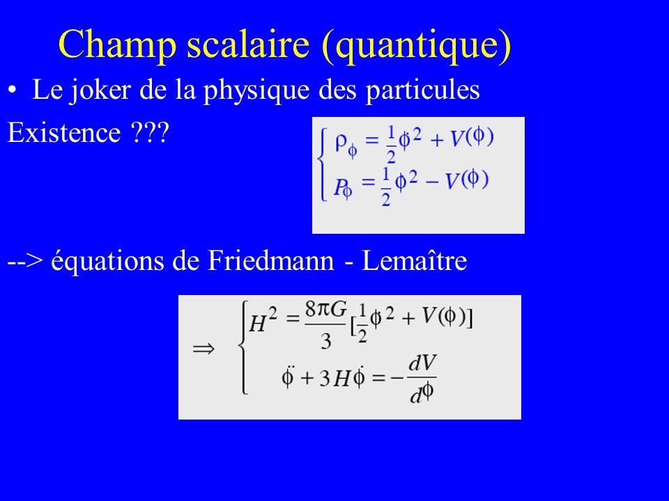 Champ scalaire (quantique)