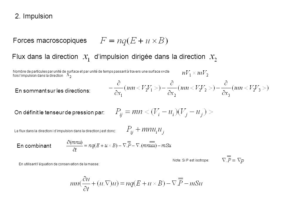 Forces macroscopiques