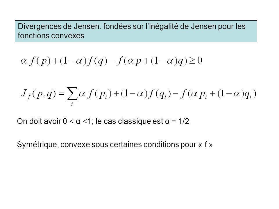 Divergences de Jensen: fondées sur l'inégalité de Jensen pour les fonctions convexes