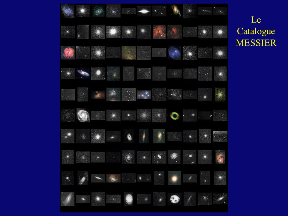 Le Catalogue MESSIER