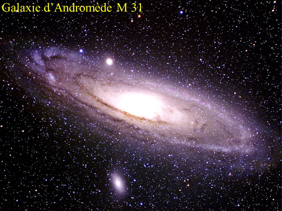Galaxie d'Andromède M 31