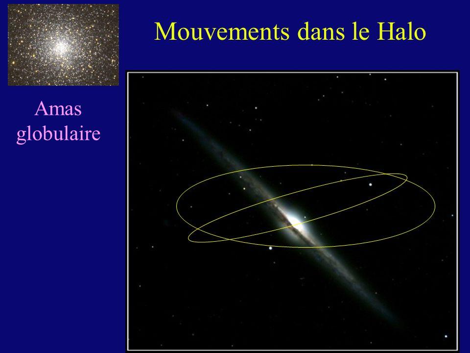 Mouvements dans le Halo
