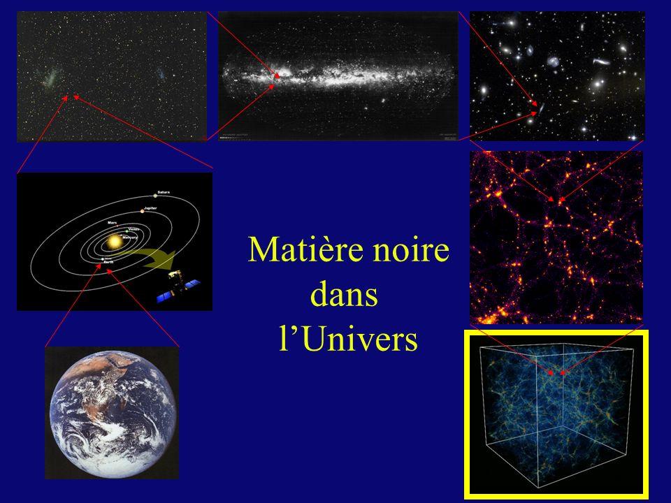 Matière noire dans l'Univers