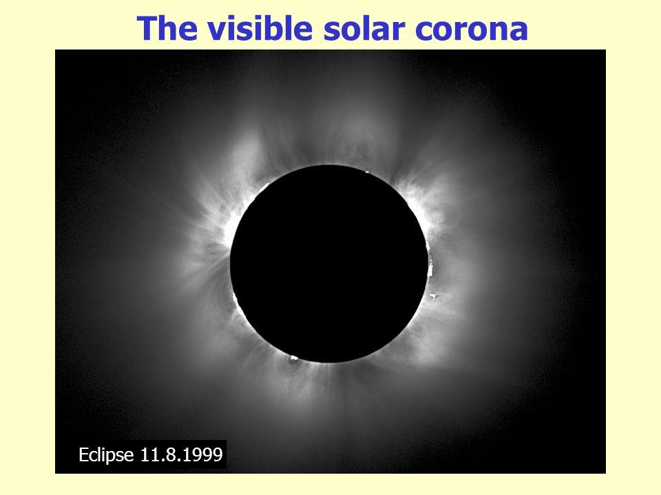 The visible solar corona
