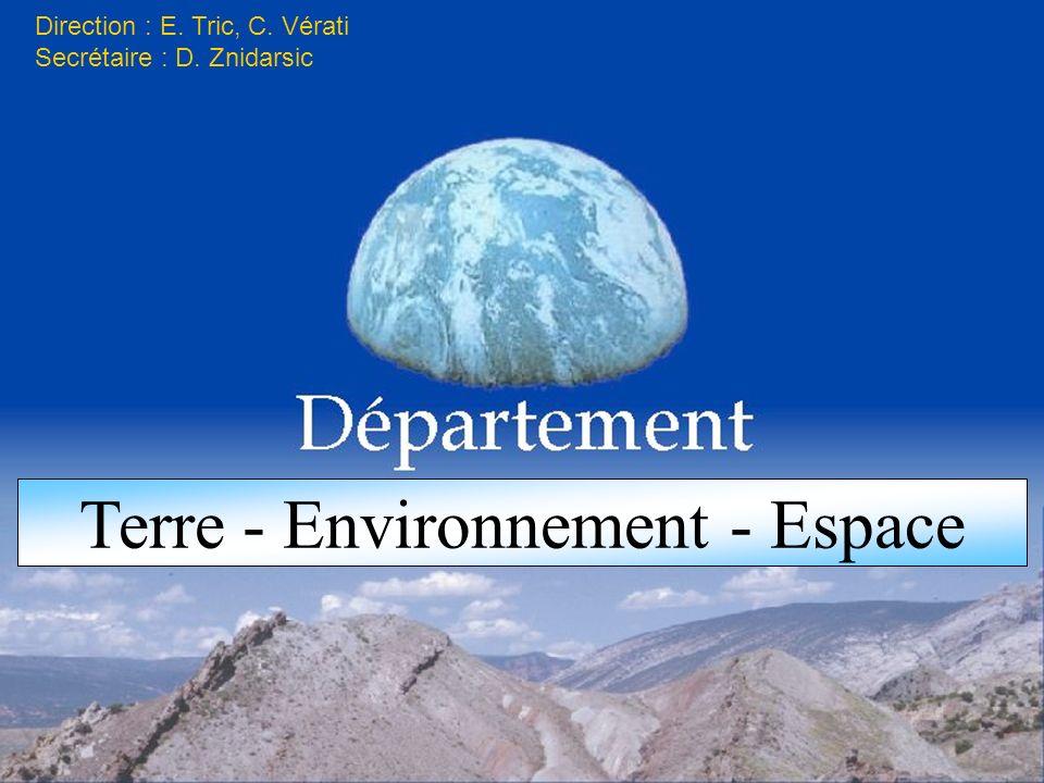 Terre - Environnement - Espace