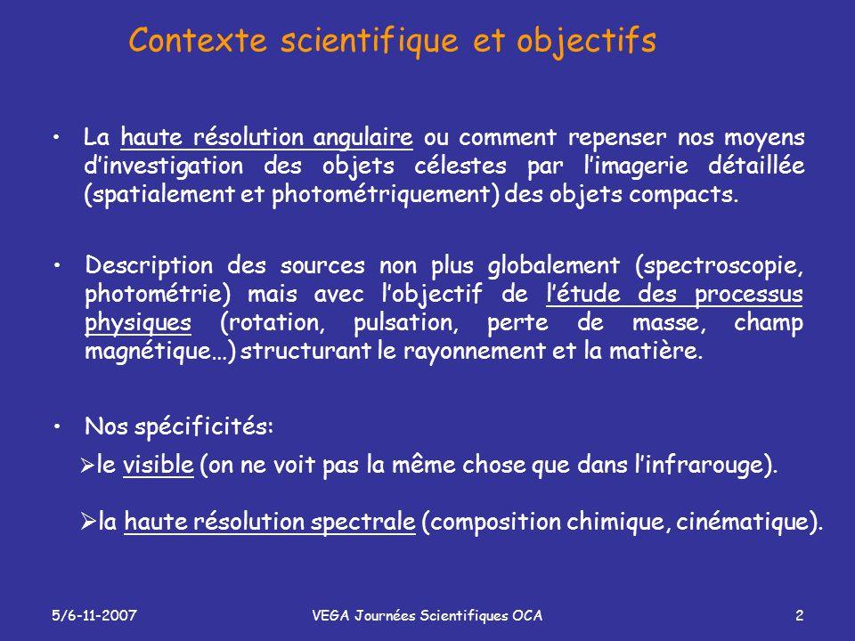 Contexte scientifique et objectifs