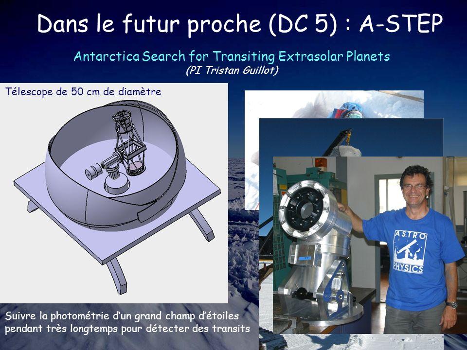 Dans le futur proche (DC 5) : A-STEP
