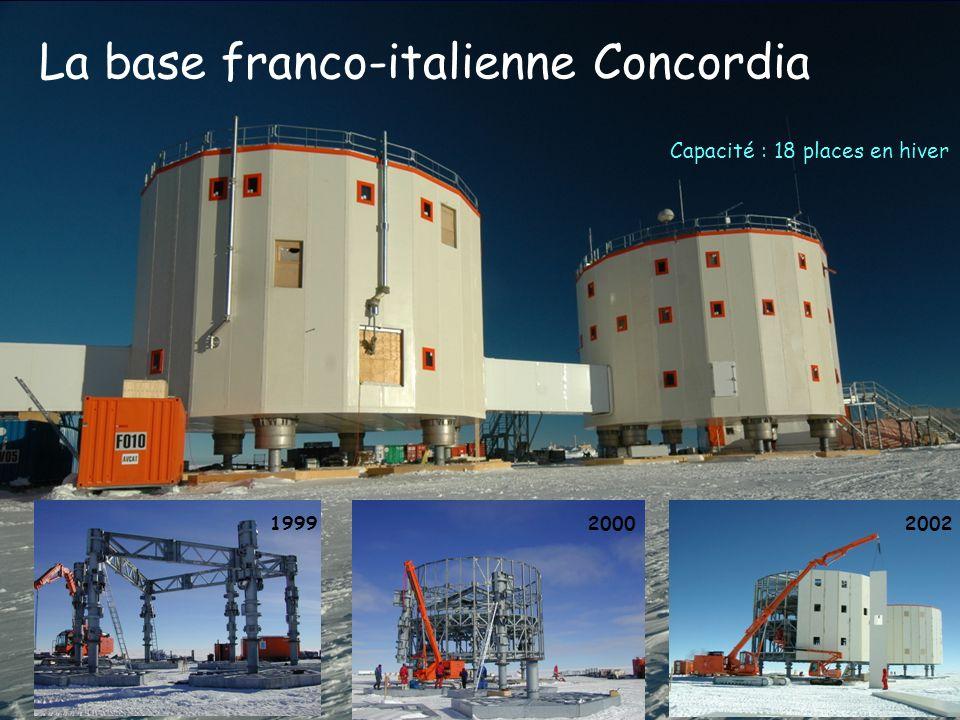 La base franco-italienne Concordia