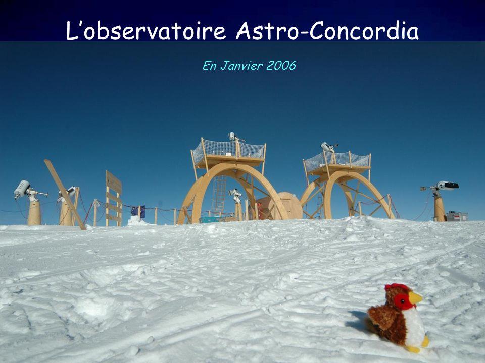 L'observatoire Astro-Concordia