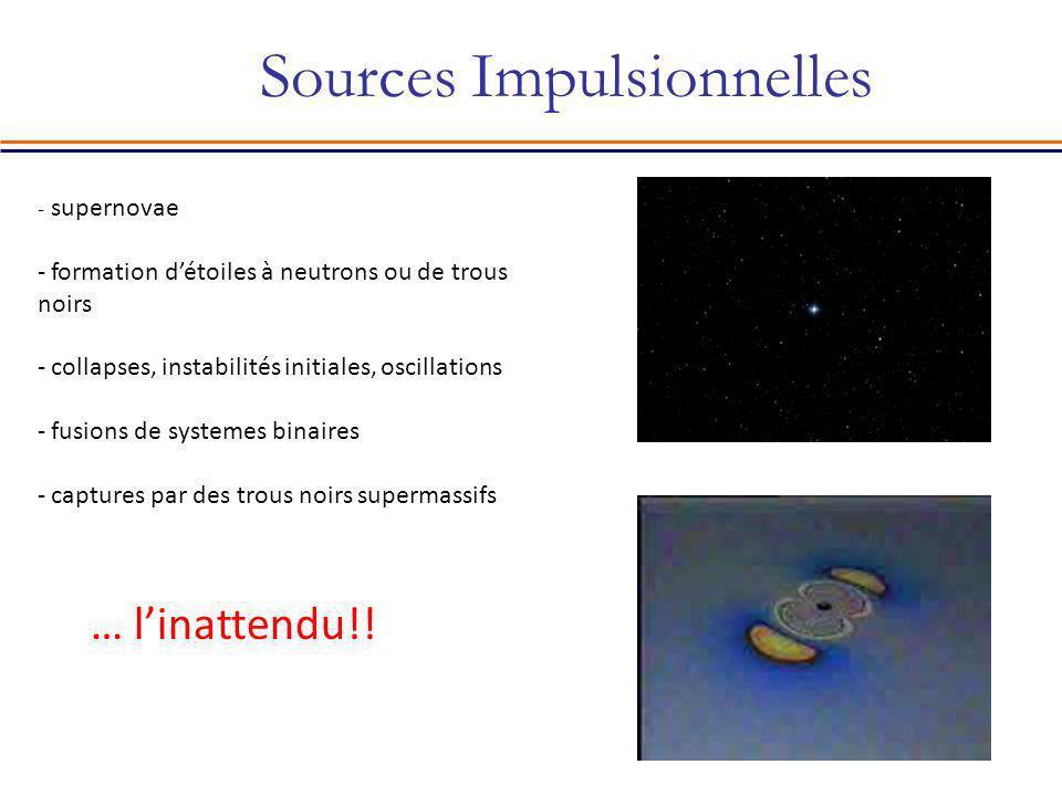 Sources Impulsionnelles