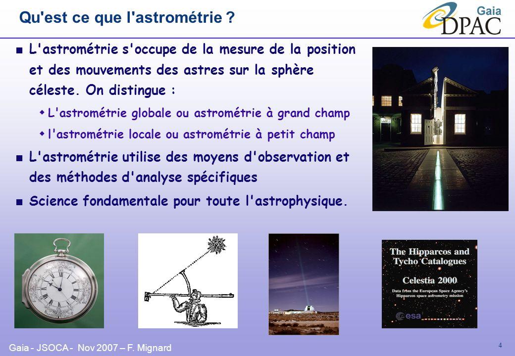 Qu est ce que l astrométrie