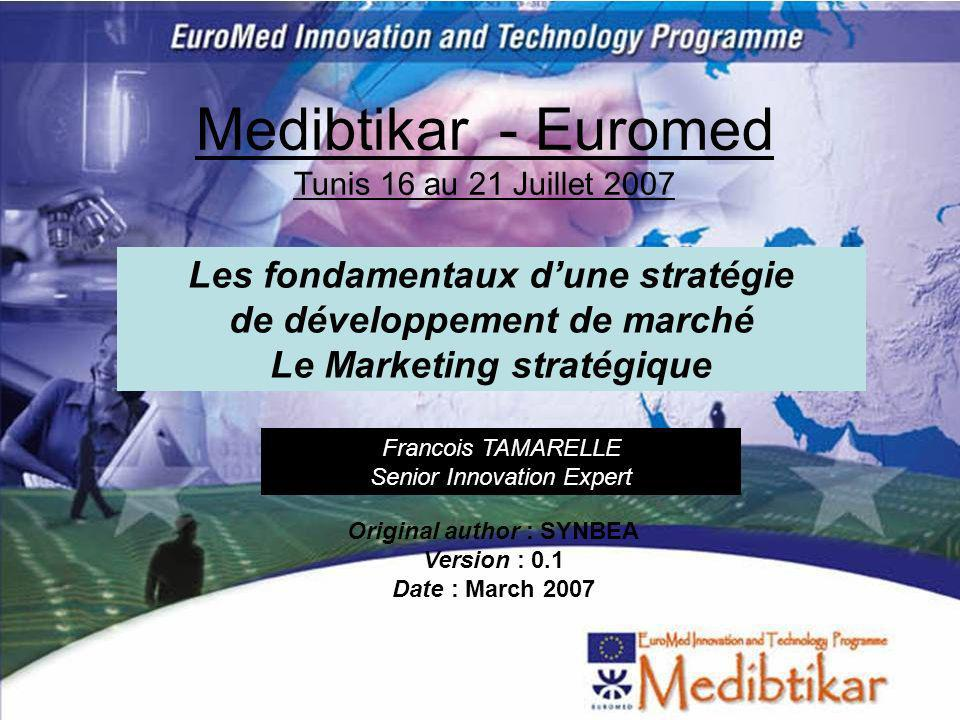 Medibtikar - Euromed Tunis 16 au 21 Juillet 2007