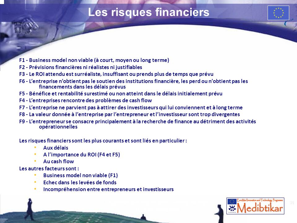 Les risques financiers