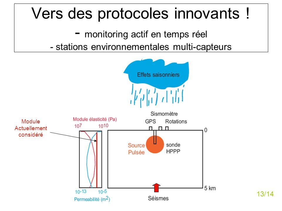 Vers des protocoles innovants