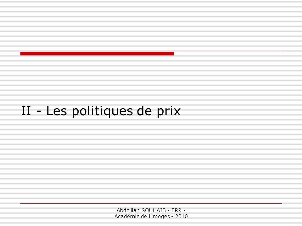 Abdelilah SOUHAIB - ERR - Académie de Limoges - 2010