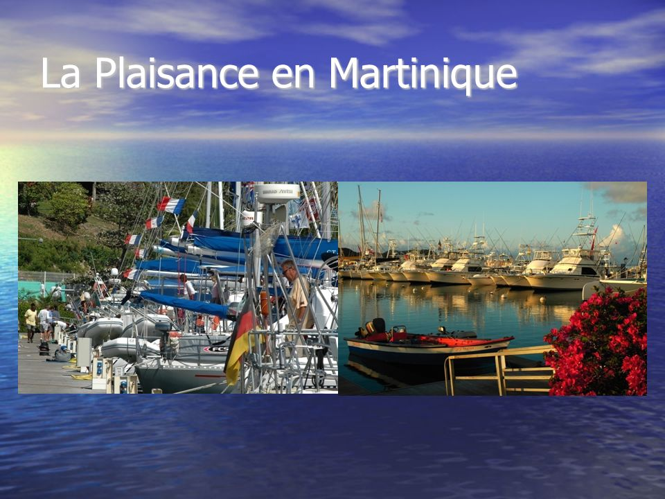 La Plaisance en Martinique