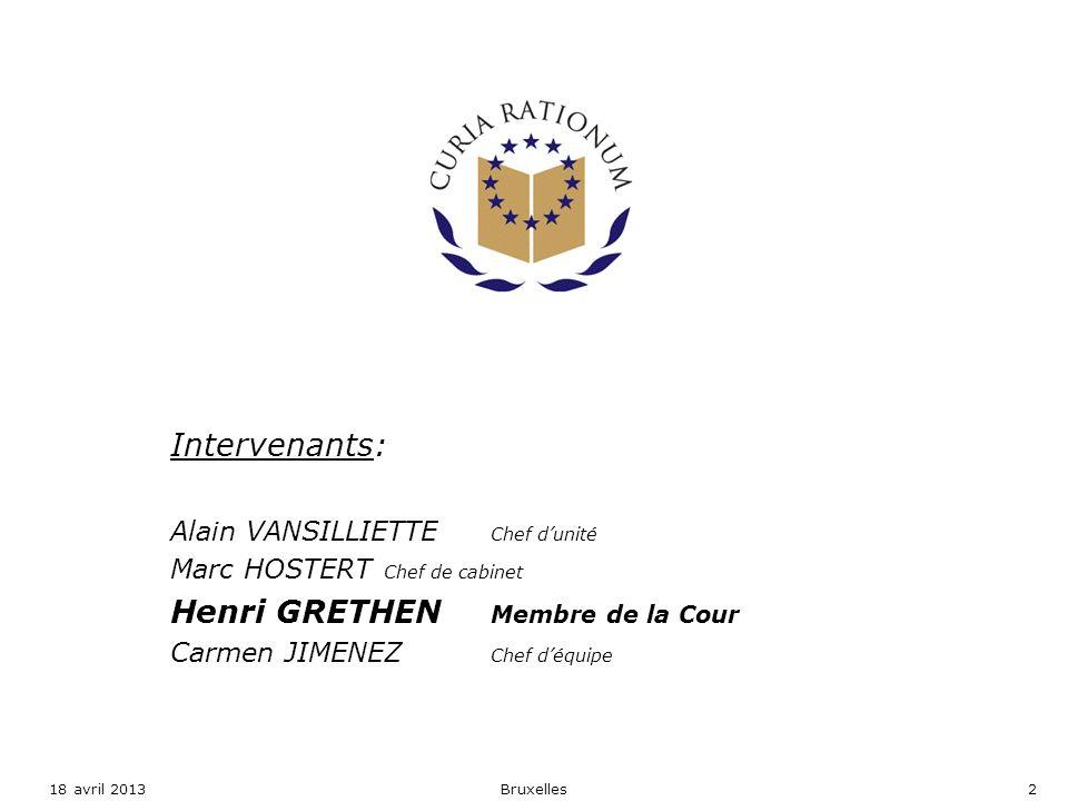 Henri GRETHEN Membre de la Cour