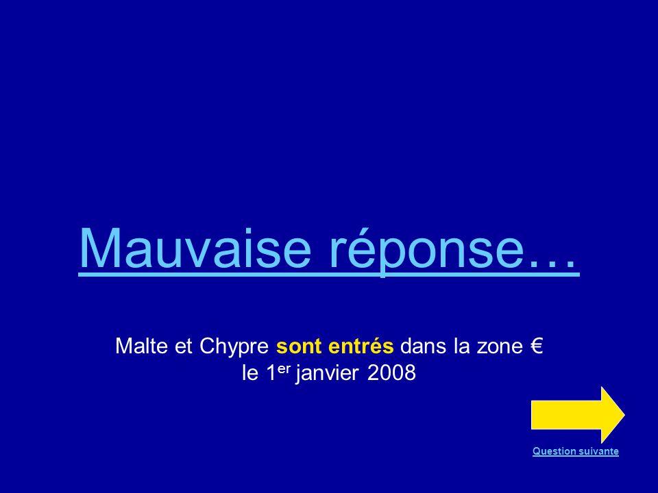 Malte et Chypre sont entrés dans la zone € le 1er janvier 2008