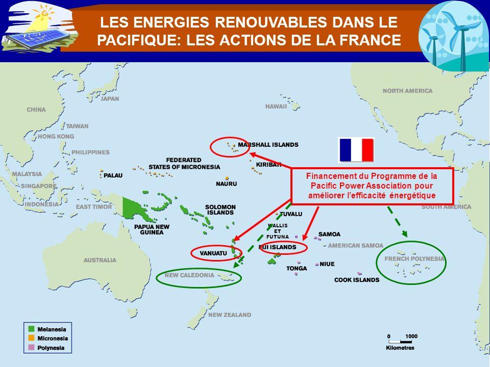 LES ENERGIES RENOUVABLES DANS LE PACIFIQUE: LES ACTIONS DE LA FRANCE