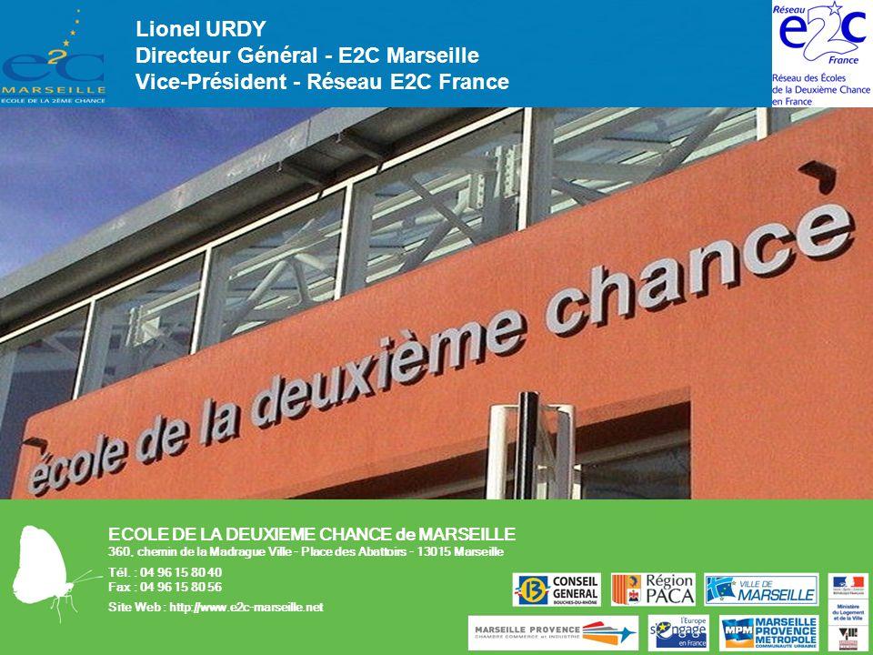 Directeur Général - E2C Marseille Vice-Président - Réseau E2C France