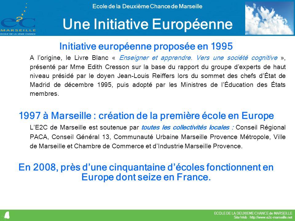 Une Initiative Européenne