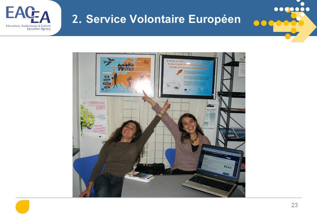 2. Service Volontaire Européen Qu'est-ce qu'un SVE…