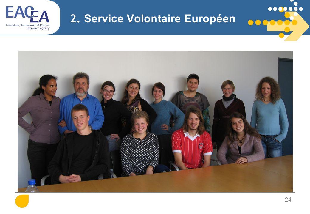 2. Service Volontaire Européen