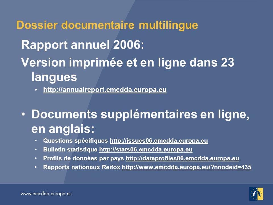 Dossier documentaire multilingue