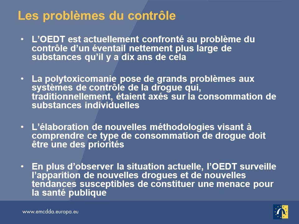 Les problèmes du contrôle